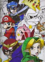 Super Smash Brothers Melee by Kenji-Harima