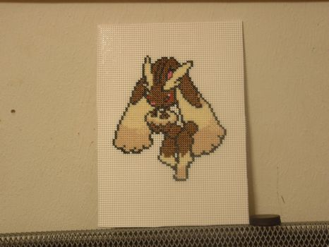 Lopunny cross stitch by mtexas4