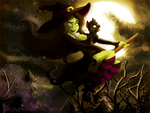 I Cast A Spell On You ~ Happy Halloween by Pussycat-Puppy
