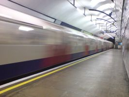 London Tube 02 by Fea-Fanuilos-Stock