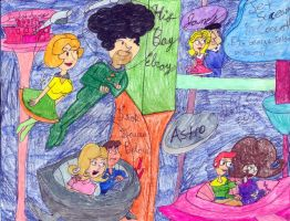 Couples as the Jetsons by Toongrrl