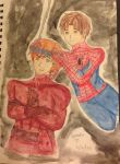 Guess who's Spideydevil trash lol by AmaiYuzuki564