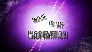 Music Is My Inspiration by J-R-Graphics