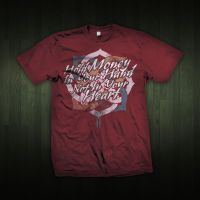 Hold Money Red tee by omarnejai