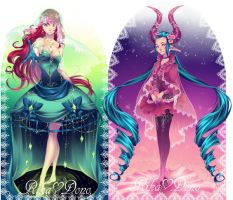Adopt those Ladies 3 - PAYPAL auction - CLOSED by rika-dono