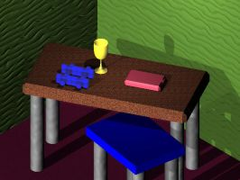 3D Still life project by battybuddy