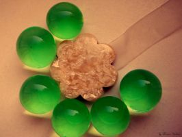 green bubbles by florina23
