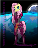 Commander Fluttershy by Annamaru