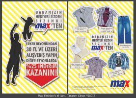 Max Fashions Flyer by cihanYILDIZ