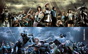 Final Fantasy Dissidia 012 by Shovxy