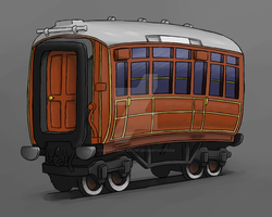 Gresley Coach by NE-Railway-Artist
