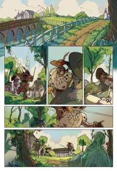 Comic page_in the park by saspy