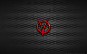 Wallpaper - 'V' For Vendetta Logo by Kalangozilla