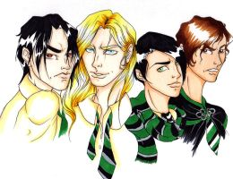 Slytherin Marauder Era by ToriaDoria
