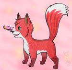 Little Fox by Zivichi