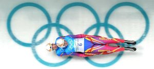 sliding at the olympics by paolica