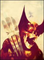 Wolverine.Zombie Version. by Noeno