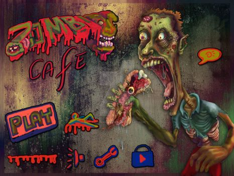Zombie cafe by aaryankhakan