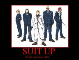 Suit Up by ddraigcoch