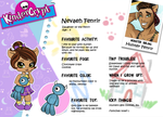 Monster High OC Nevaeh Fenrir Bio by chunk07x
