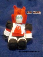 Chibi Red Alert Plushie by Scrapdragons