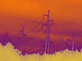 Telephone Lines 1 by CreativeChic21xoxo