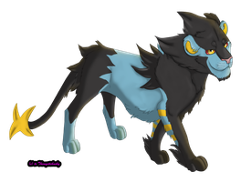 Luxray by Themystichusky