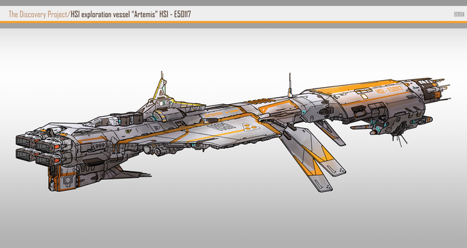 HSI exploration vessel Artemis by SDFleshmaster