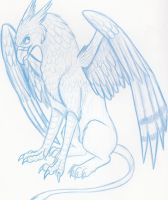 Random Gryphon by neon-possum
