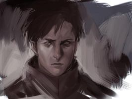 Anime redraw - Vincent Law (Ergo Proxy) by Lumannn