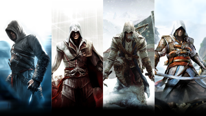 Assassin's Creed: Four Legends by okiir