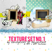 Texture Set 1 by candykicks