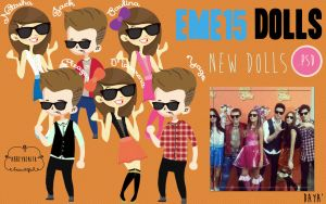 PACK EME 15 Dolls by AbbeyDenith
