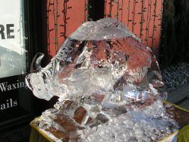 Ice Sculpture 32 by ItsAllStock
