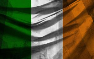 Irish Flag with Texture by metfuel