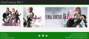 Final Fantasy XIII-2 - Icon by Crussong