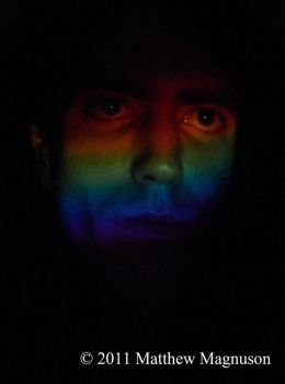 Rainbow Self-Portrait by PigsCanFly2day