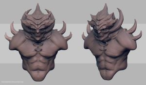 WipDemon by FirstKeeper