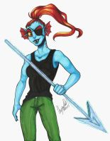 Undyne by WhisperSeas