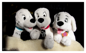 102 Dalmatians Disney Store Plush Trio - Group by The-Toy-Chest