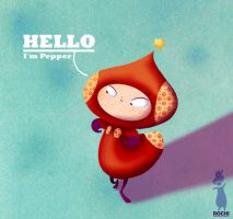 Little Pepper by RocioGarciaART