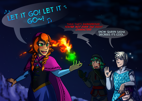 UtS: Let it Go by ColacatintheHat