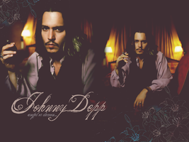 Johnny Depp wallpaper by Dark-Angell