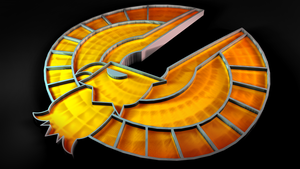 japanese captain falcon emblem by PortableNetworkGraph
