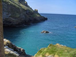 Tintagel Castle and surroundings - 27 by yaschaeffer
