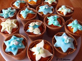 Icing Muffins by Elehanne