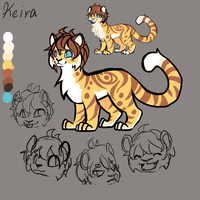 Keira quick ref 2013 by Kyuwa-kun