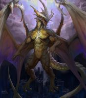 Bahamut by Pacelic