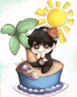 fishy haeppy bday by Nenke