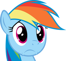 Rainbow Dash Vector by FlawlessTea